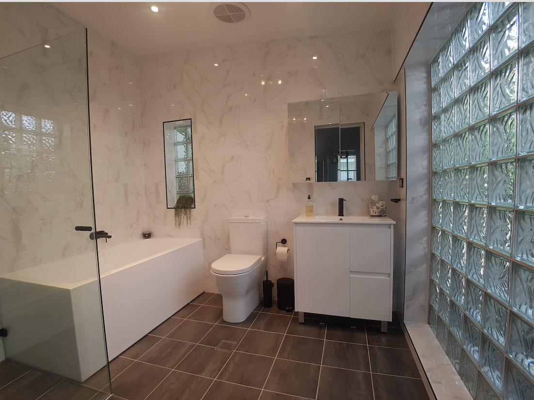 Luke S Bathroom Amp Ensuite Renovation Photos