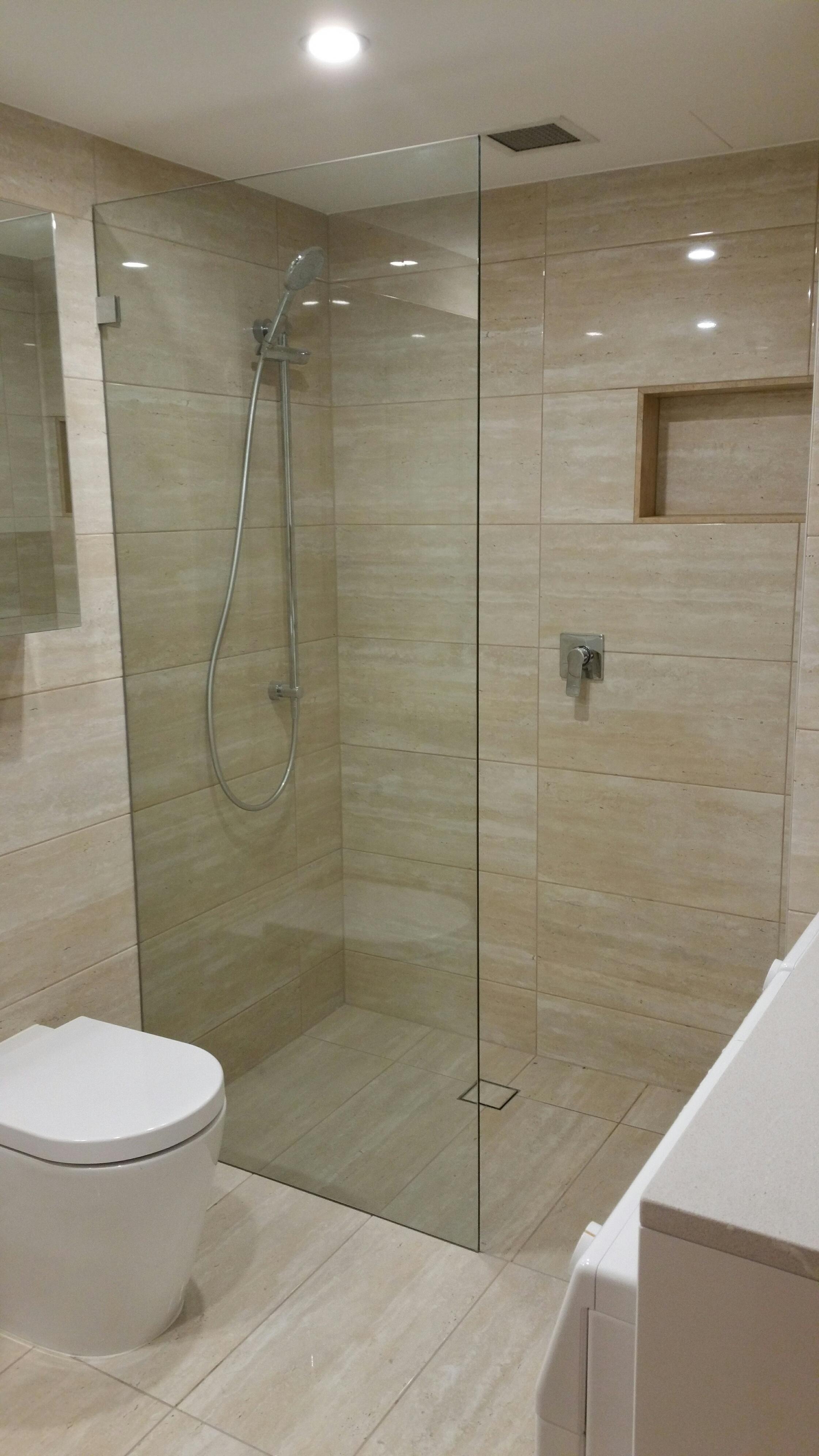 Luke s bathroom ensuite renovation photos for Renovations sydney