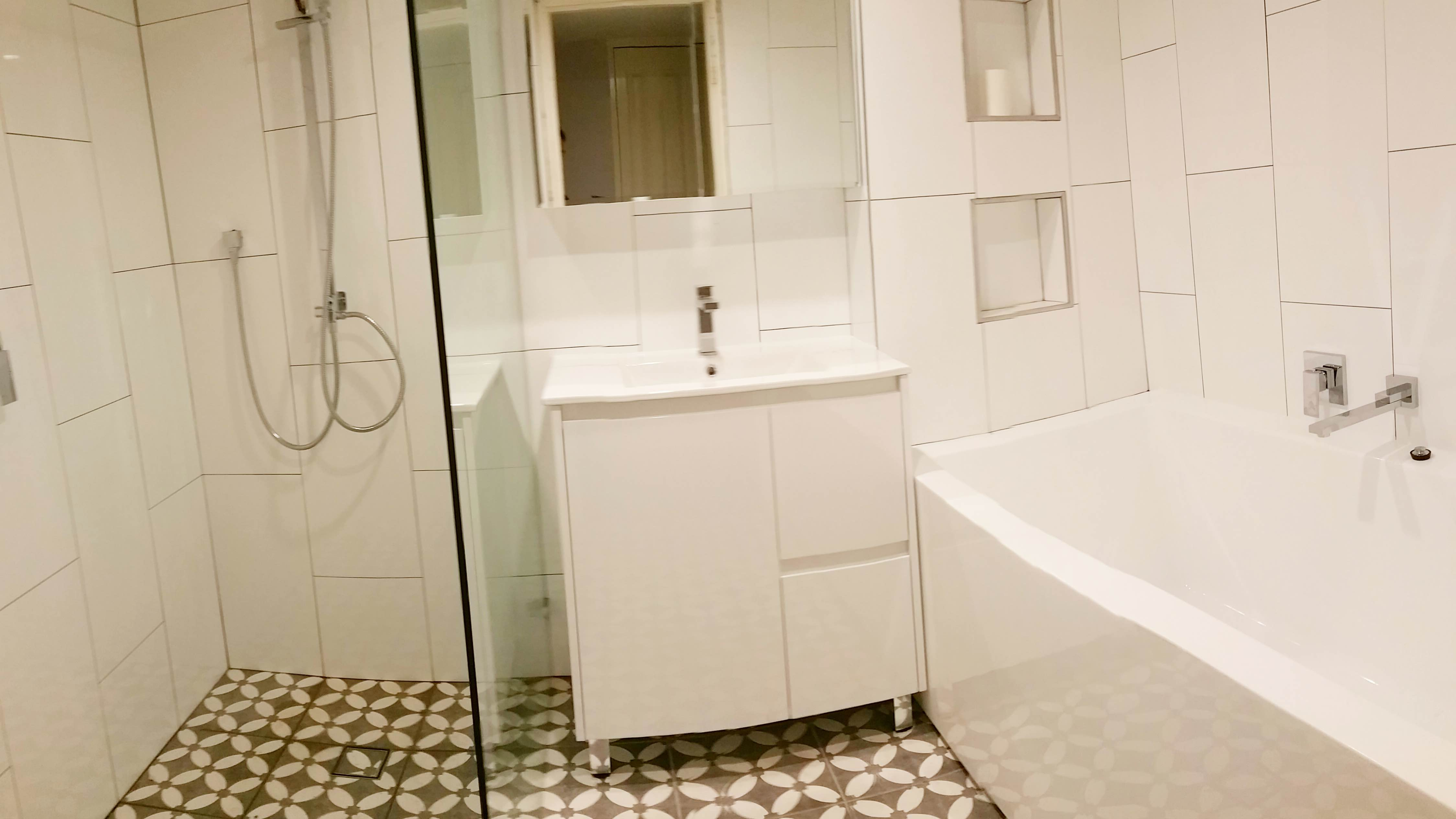 Bathroom Renovations Eastern Suburbs Sydney luke's bathroom & ensuite renovation photos