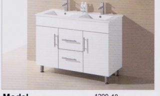 Eliza Vanity 1200mm Double Sink-UV271200WD
