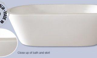 Elleni Free Standing Bath 1800mm
