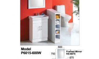 Mini Vanity 600mm-P6015600W