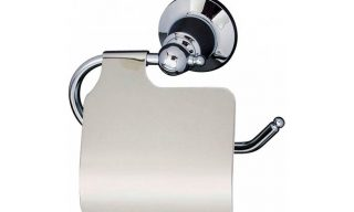 Noosa Toilet Roll Holder with Flap
