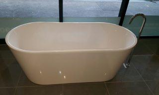 Oval Slim Free Standing Bath