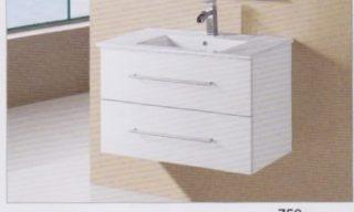Sierra Wall Hung Vanity 750mm-WH28750W
