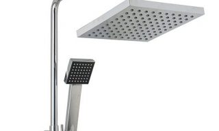 Square Twin Shower