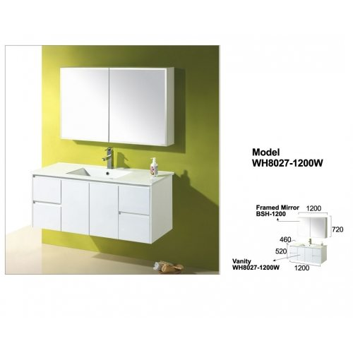 Buy A Willow Wall Hung Vanity 1200mm Online At Luke S Renovations In Sydney