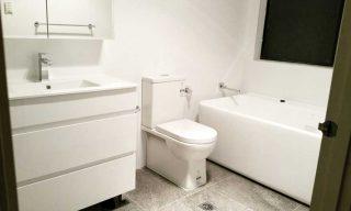 Prestons bathroom renovation