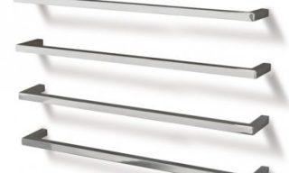 Single Heated Towel Rail - 850mm Square