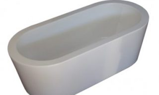 forme oval bath 1500mm