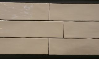 latte subway hand made tiles