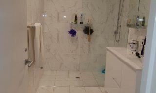 after shot camperdown bathroom renovation