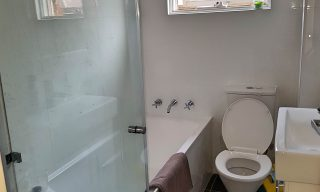 bathroom renovation hillsdale before and after