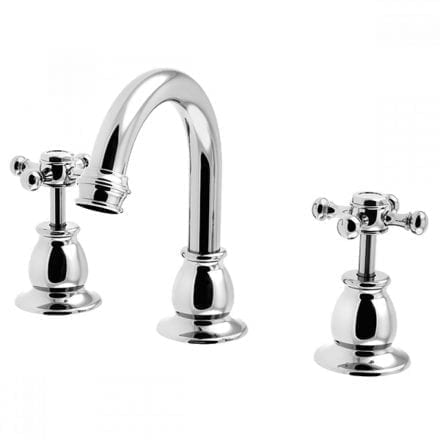 Harper Basin Set With Fixed Outlet