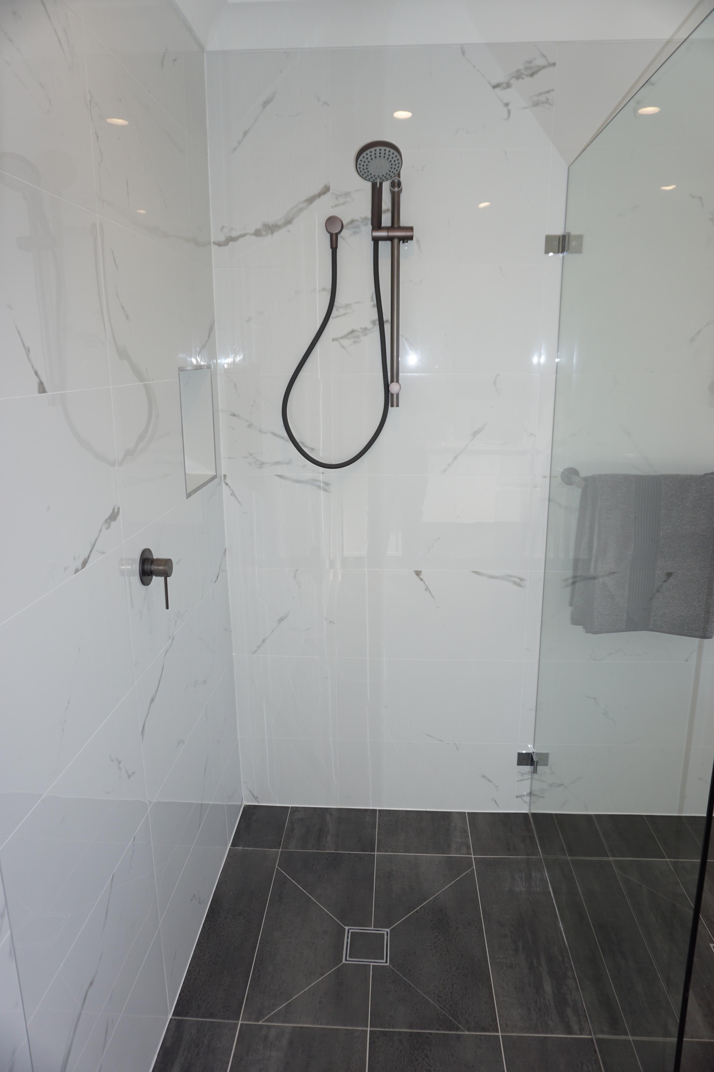 Bathroom renovation completed in Menai, Sydney.