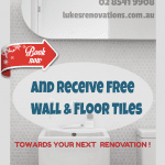 Free tiles of choice with your next renovation!
